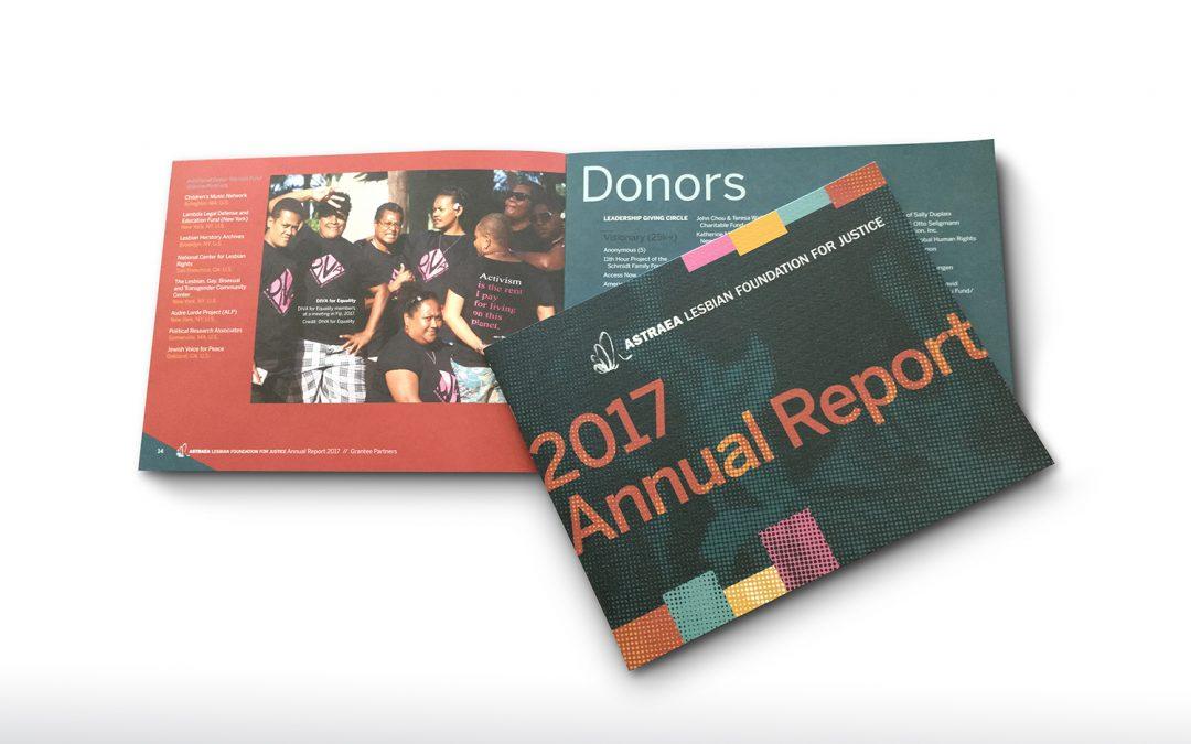 Astraea Foundation Annual Report