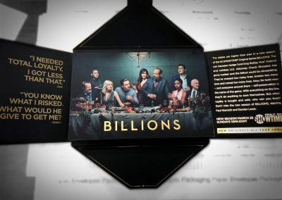Billions New Season Promotional Item
